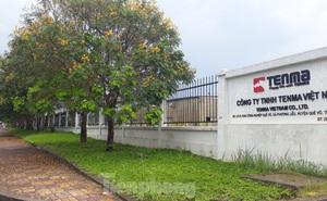 Công an làm việc với Trưởng đoàn Kiểm tra thuế Cty TNHH Tenma Việt Nam