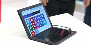 Đây là Lenovo ThinkPad X1 – laptop màn hình gập đầu tiên trên thế giới, dùng màn hình của BOE