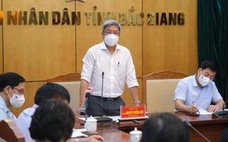 Thứ trưởng Bộ Y tế liệt kê 4 'vũ khí' giúp Bắc Giang dập dịch