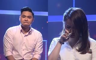 """Con trai Lê Giang khóc, xin lỗi vợ hơn 8 tuổi và có hai con riêng: """"Xin lỗi vì để em trải qua khổ cực"""""""