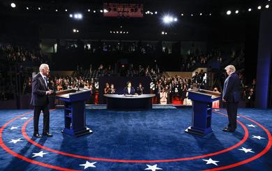 Tranh luận trực tiếp lần cuối, ông Trump hay ông Biden thắng? Câu trả lời từ 2 đội ngũ tranh cử