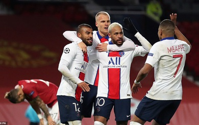 """Tan vỡ dưới đôi chân Neymar, Man United rơi vào cảnh trớ trêu tại """"bảng tử thần"""" Champions League"""