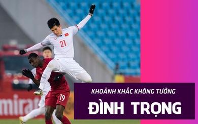 """Đình Trọng và pha cứu thua """"nhân ba"""" mở đường cho kỳ tích của HLV Park Hang-seo cùng U23 Việt Nam"""