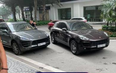 Vụ 2 xe sang Porsche trùng biển số: Hoàn tất thủ tục phát thông báo truy tìm tài xế biển giả