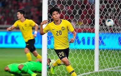 """Malaysia dùng """"trọng pháo"""" từng ghi bàn vào lưới UAE đấu tuyển Việt Nam"""