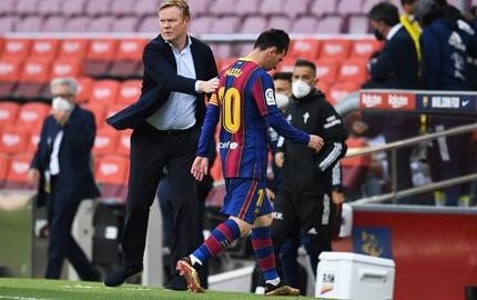 Barca quyết định sa thải HLV Ronald Koeman