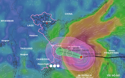 2 tàu cá của Bình Định bị chìm, 26 ngư dân mất tích; Xe bọc thép, trực thăng sẵn sàng để ứng phó với bão số 9