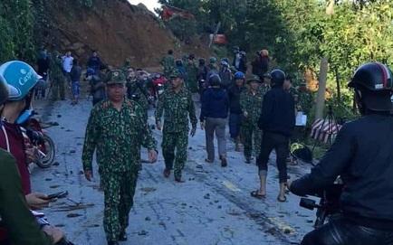 SẠT LỞ Ở QUẢNG NAM: Hiện nay đã tìm thấy 16 thi thể; Cả gia đình Bí thư xã Trà Leng đang mất liên lạc