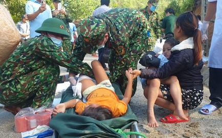 SẠT LỞ Ở QUẢNG NAM: Đã cứu sống được 33 người ở Trà Leng, 13 người hiện đang còn mất tích