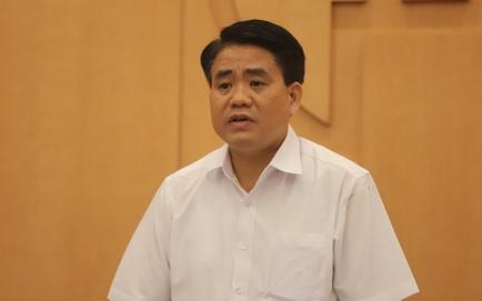 Bộ Chính trị đình chỉ chức vụ Phó Bí thư Thành uỷ Hà Nội với ông Nguyễn Đức Chung