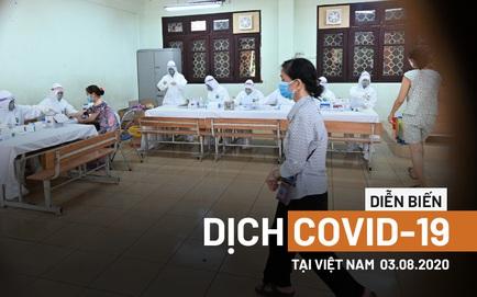 Thứ trưởng Y tế xin phép Thủ tướng ở lại Đà Nẵng cho đến khi dịch chấm dứt;  Phát thông báo khẩn tìm công nhân từng làm việc chung với BN 614