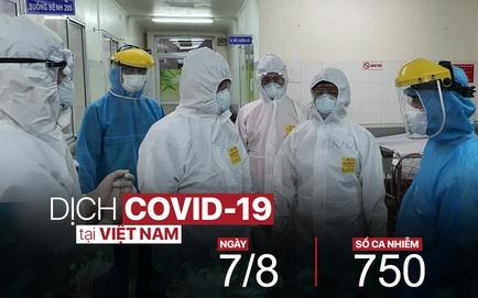 Dịch Covid-19 ngày 7/8: Sáng nay, Việt Nam thêm 3 ca mới; Thanh Hoá phong tỏa 2 khu phố