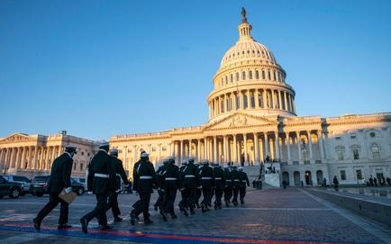 Tòa án Tối cao bị đe dọa đánh bom; ông Joe Biden cùng bà Harris đã có mặt tại điện Capitol