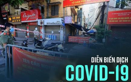 Nhân viên y tế mắc Covid-19, xét nghiệm khẩn hàng trăm người. Ổ dịch ở Hà Nội sáng nay thêm 5 ca