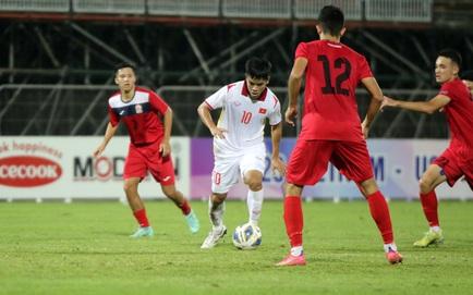 U23 Việt Nam 1-0 U23 Đài Bắc Trung Hoa: Văn Xuân ghi bàn duy nhất cho U23 Việt Nam
