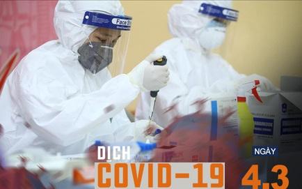 [NÓNG] Nữ sinh dương tính với SARS-CoV-2 từng đi siêu thị, đi chợ, đi chúc Tết; Dự kiến tiêm vắc xin Covid-19 ở Hải Dương từ 8/3