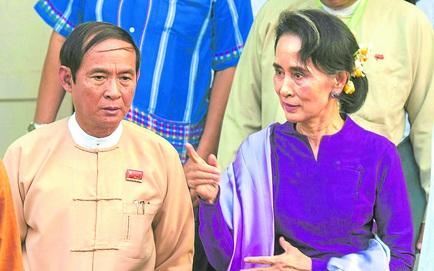 Phe bà Aung San Suu Kyi bất ngờ tự tuyên bố thành lập chính phủ, cử bà làm Cố vấn nhà nước