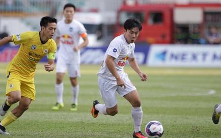 [TRỰC TIẾP V.League] HAGL 0-0 Hà Nội FC: Hồng Duy đưa bóng trúng xà ngang Hà Nội FC
