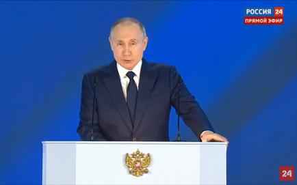 Thông điệp liên bang 2021 của ông Putin: Tỷ trọng tên lửa tối tân của quân đội Nga đạt 88% ngay năm nay