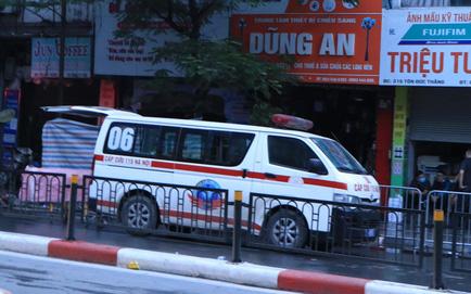 Gia đình 4 người tử vong trong vụ cháy trên phố Tôn Đức Thắng bị mắc kẹt tại tầng tum