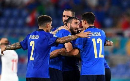 TRỰC TIẾP EURO 2020 (20/6): Italia 0-0 Xứ Wales, Thụy Sĩ 2-0 Thổ Nhĩ Kì