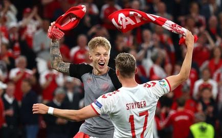"""Euro 2020: Đan Mạch hồi sinh theo kịch bản không tưởng; Lukaku """"tuyên chiến"""" với Ronaldo"""