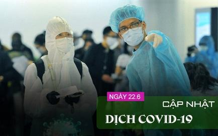 Trưa 22/6, ghi nhận thêm 100 ca COVID-19, số ca ở TP HCM cao nhất; 5 ca COVID-19 đến khám tại BV Đa khoa Sài Gòn