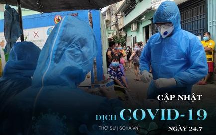 3 tình nguyện viên chống dịch ở TP.HCM dương tính SARS-CoV-2. Sáng ngày giãn cách xã hội, cô gái Hà Nội dắt chó đi dạo bị phạt 2 triệu đồng