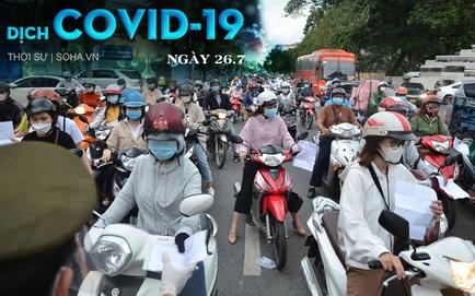 Sau chỉ đạo siết chặt, người dân TP.HCM ra đường vẫn đông, có chốt lập hơn 10 biên bản trong 1 tiếng. 154 bệnh nhân COVID-19 tử vong