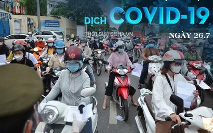 Test nhanh ngẫu nhiên trên đường, CSGT Sài Gòn phát hiện 2 ca dương tính SARS-CoV-2. Gần như toàn bộ BV Phổi Hà Nội thành F1