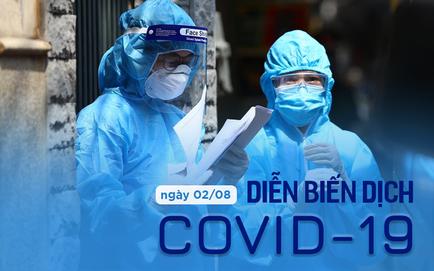 Số ca mắc COVID-19 tại TP.HCM bắt đầu giảm; Chiều 2/8, Hà Nội chỉ ghi nhận 1 ca dương tính SARS-CoV-2
