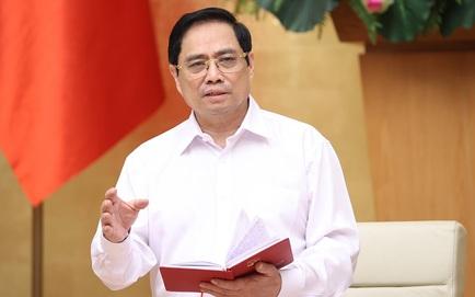 Thủ tướng phân công nhiệm vụ chỉ đạo chống dịch Covid-19 cho 4 Phó Thủ tướng