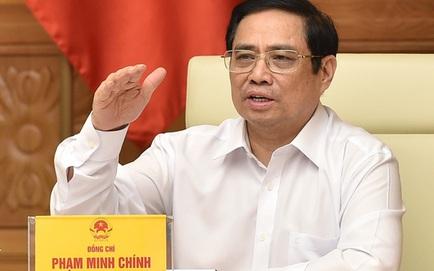 Thủ tướng: 'Cố gắng đến 30/9 nới lỏng giãn cách để khôi phục phát triển kinh tế - xã hội'