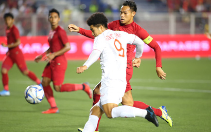 TRỰC TIẾP U22 Việt Nam 0-0 U22 Indonesia: Hà Đức Chinh dứt điểm nguy hiểm