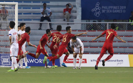TRỰC TIẾP U22 Indonesia 2-2 U22 Myanmar: Myanmar gỡ liền 2 bàn theo cách không thể tin nổi