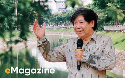 'Điểm nóng' Tô Lịch, GS Lê Văn Lan: Đọc đi, xem còn ai dám lăm le giết chết dòng sông nữa hay không!