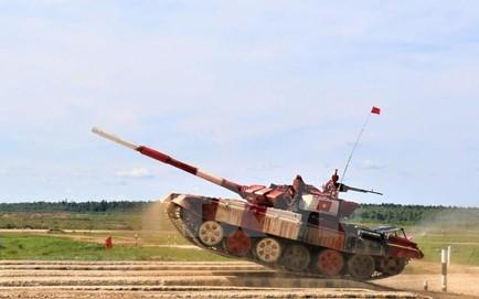 """TRỰC TIẾP: Nga vừa lập kỷ lục """"vô tiền khoáng hậu"""", bảo vệ thành công chức vô địch tại chung kết siêu hạng Tank Biathlon 2019"""