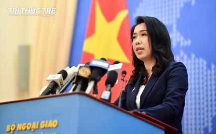 Việt Nam phản ứng việc TQ tuyên bố tàu Hải Dương 8 hoạt động trong vùng biển TQ: Đây là vùng biển hoàn toàn của Việt Nam!