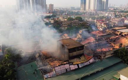 """HN họp báo công bố nguyên nhân vụ cháy Cty Rạng Đông: """"Không có sự tác động của con người"""""""
