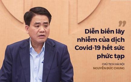 Chủ tịch Nguyễn Đức Chung yêu cầu cảnh báo các quán bar, hạn chế tụ tập phòng dịch Covid-19