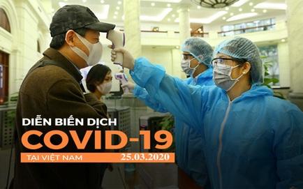 Dịch Covid-19 ngày 25/3: Việt Nam có 134 ca dương tính, nghi ngờ lây nhiễm chéo ở Bệnh viện Bạch Mai