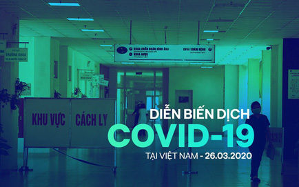 [Dịch Covid-19 ngày 26/3] Thủ tướng: Tạm dừng mọi hoạt động hội họp, tập trung trên 20 người - Bộ Lao động hướng dẫn trả lương cho người bị ngừng việc do dịch Covid-19