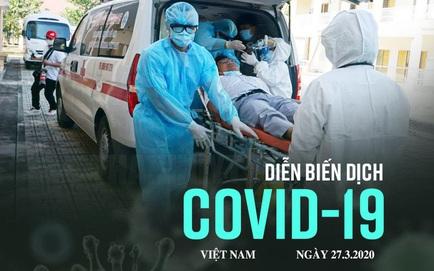 Dịch Covid-19 ngày 27/3: Gần 1600 người Hà Nội đã đến BV Bạch Mai khám trong 10 ngày qua; Toàn quốc dừng hoạt động kinh doanh dịch vụ đến 15/4