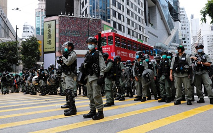 """Luật an ninh Hồng Kông: Bộ trưởng Công an Trung Quốc tuyên bố sắc lạnh, tiên phong """"xuất trận"""""""