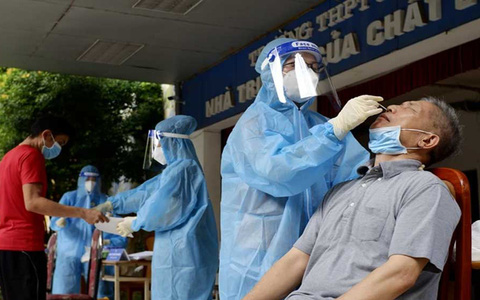 Hà Nội phát hiện 19 người về từ miền Nam đã tiêm đủ 2 mũi vắc xin mắc Covid-19