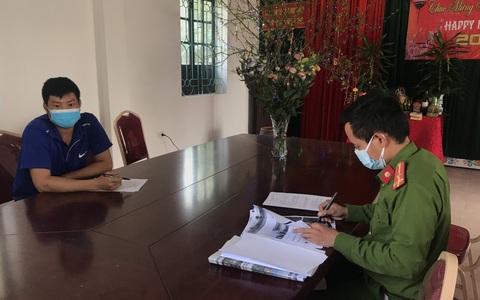 Nam thanh niên đăng thông tin sai sự thật về khẩu phần ăn trong khu cách ly ở Quảng Ninh