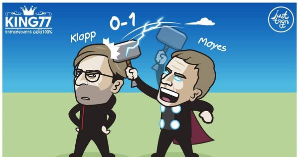 Biếm họa 24h: Chọc giận Jurgen Klopp, David Moyes nhận cái ...