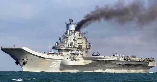 """Đô đốc Kuznetsov: Tàu sân bay """"đen đủi"""" nhất của Nga, thế giới chưa từng chứng kiến!"""
