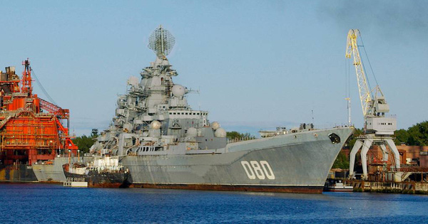 Tàu tuần dương tên lửa Đô đốc Nakhimov Nga: Tàu chiến mạnh nhất thế giới