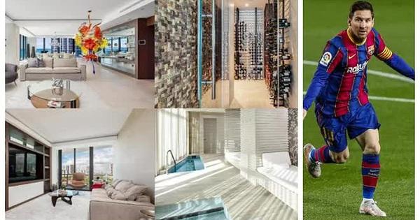 Messi vung 7,3 triệu euro mua nhà ở